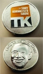 Tony Kornheiser Show Challenge Coin (avail for presale now, product in stock by 10/1)
