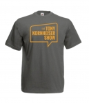 The Tony Kornheiser Show T-Shirt (Black Heather)