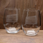 The Tony Kornheiser Show Stemless Wine Glasses (set of 2)
