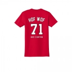 HOFWOF - 71, and Counting T-Shirt